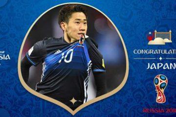 Jepang lolos ke Piala Dunia 2018