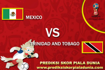 Prediksi Mexico Vs Trinidad And Tobago 6 October 2017