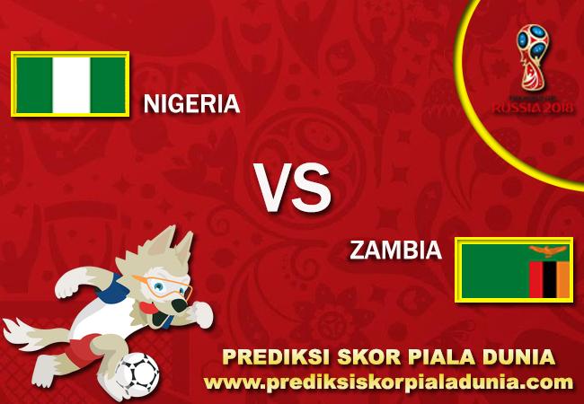 Prediksi Skor Nigeria Vs Zambia 7 October 2017