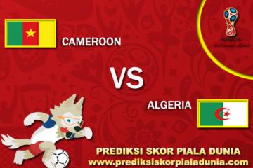 Prediksi Cameroon Vs Algeria 7 October 2017