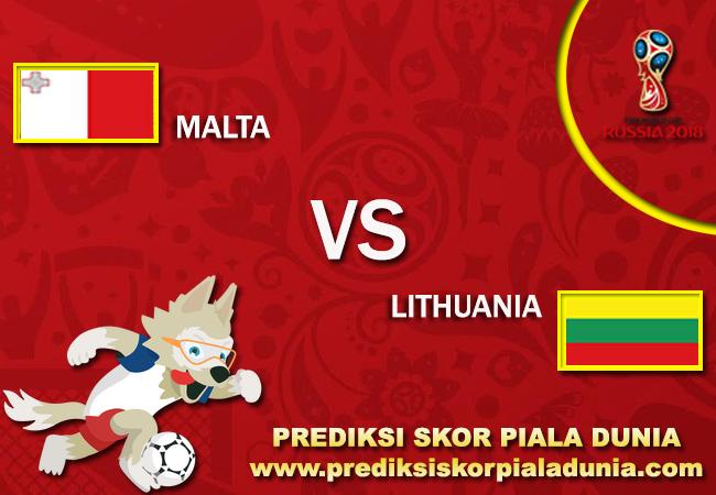 Prediksi Malta Vs Lithuania 5 October 2017