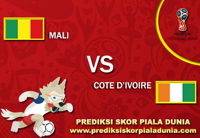 Prediksi MALI Vs COTE D'IVOIRE 6 October 2017