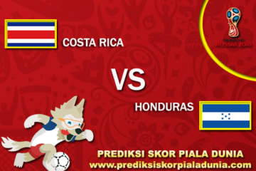 Prediksi Costa Rica Vs Honduras 6 October 2017