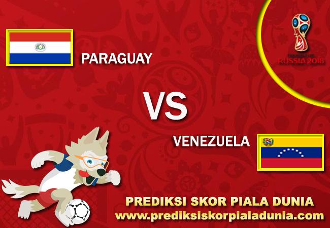 Prediksi Paraguay Vs Venezuela 10 October 2017