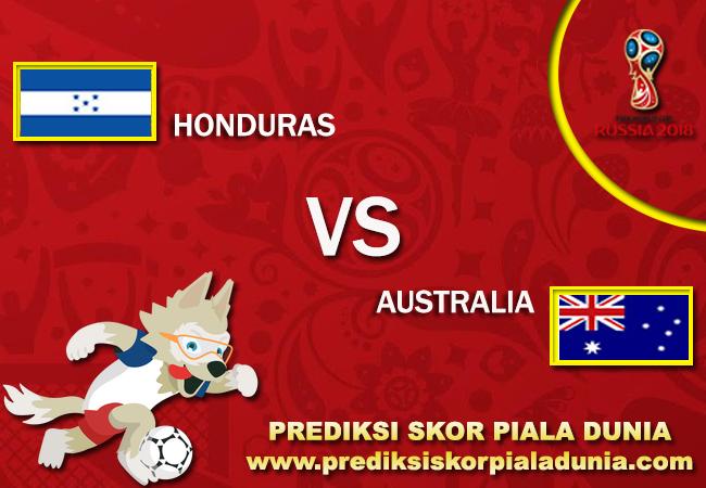 Prediksi Honduras Vs Australia 10 November 2017