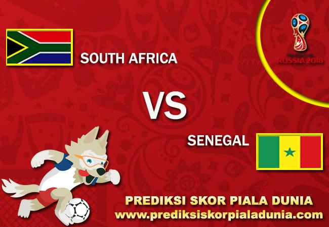 Prediksi Skor South Africa Vs Senegal 10 November 2017