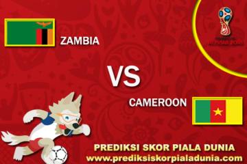 Prediksi Zambia Vs Cameroon 11 November 2017