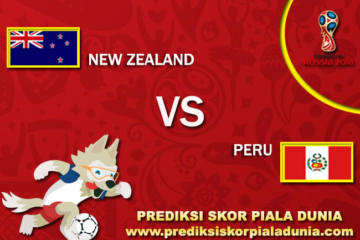 Prediksi New Zealand Vs Peru 11 November 2017