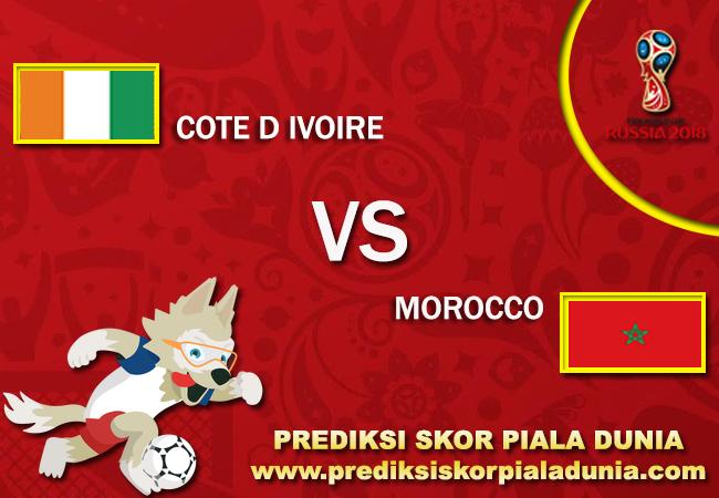 Prediksi Cote D Ivoire Vs Morocco 11 November 2017