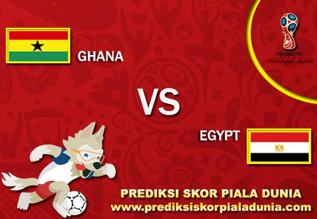 Prediksi Ghana Vs Egypt 12 November 2017
