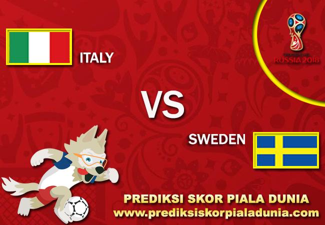 Prediksi Italy Vs Sweden 13 November 2017