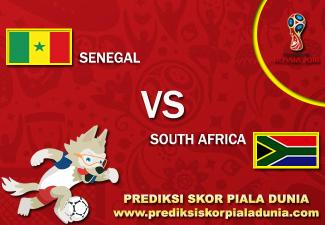 Prediksi Skor Senegal Vs South Africa 14 November 2017