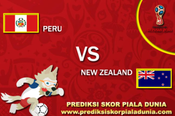 Prediksi Peru Vs New Zealand 15 November 2017