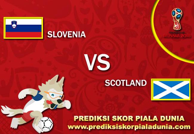 Prediksi Slovenia Vs Skotland 8 October 2017