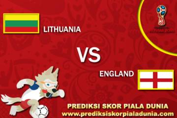 Prediksi Lithuania Vs England 8 October 2017