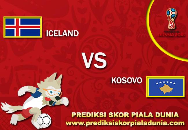 Prediksi Iceland Vs Kosovo 9 October 2017
