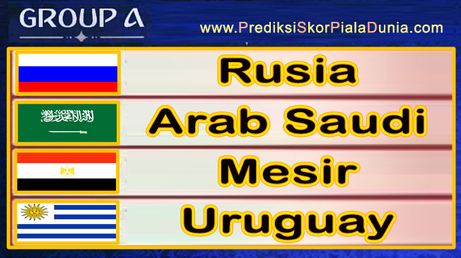 Grup A Piala dunia 2018