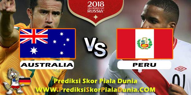 AUSTRALIA VS PERU