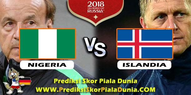 Prediksi Skor Nigeria vs Islandia 22 Juni 2018 - PREDIKSI ...
