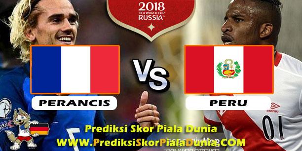 PERANCIS VS PERU