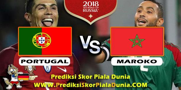 Prediksi Skor Portugal Vs Maroko  Piala Dunia  Rusia Paling Jitu Dan Paling Akurat