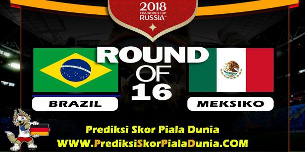 BRAZIL VS MEKSIKO